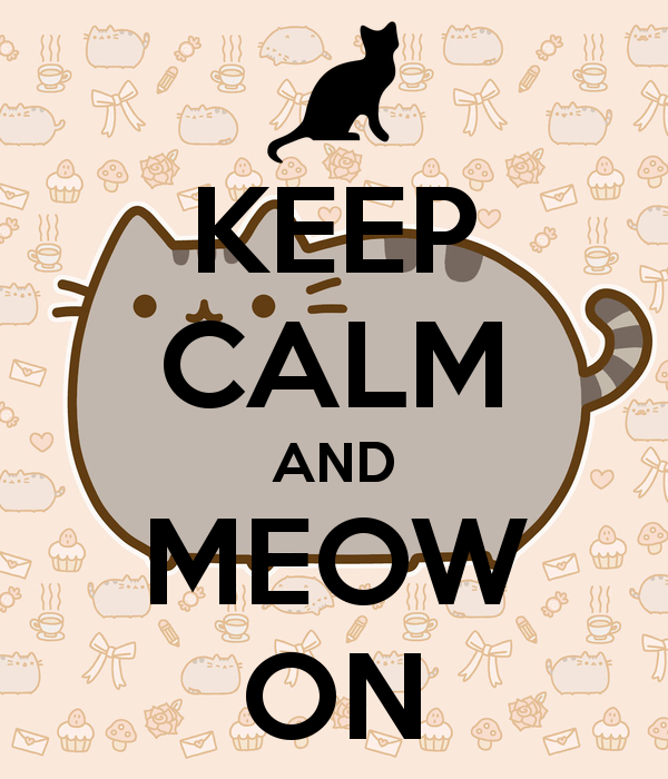 #Cartoons - Keep Calm & Meow On