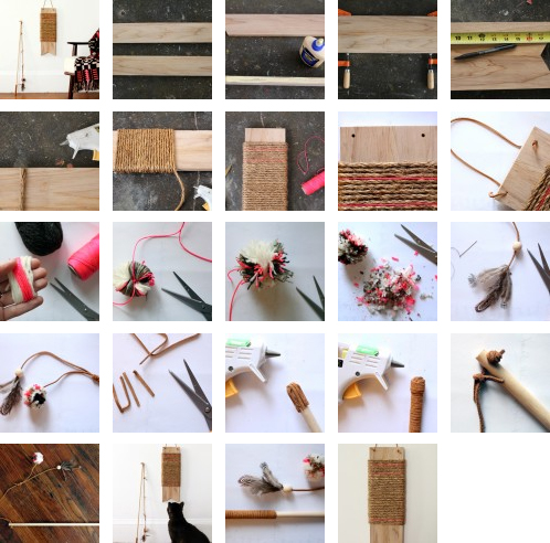 Repost diy project pretty cat toys meow aum for Diy cat wand