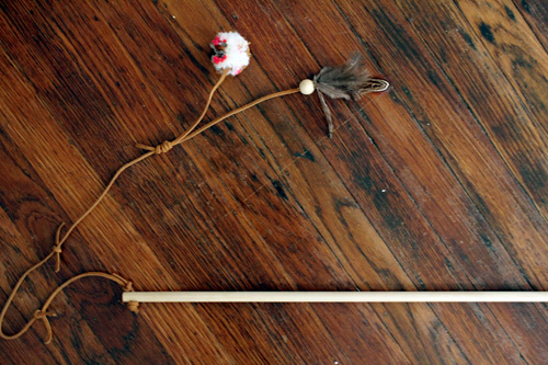 DIY Project - Pretty Cat Toys