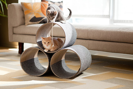 DIY Kitty Condo from Lowe's Creative Ideas