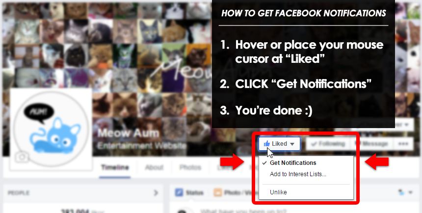How to Get Facebook Notifications
